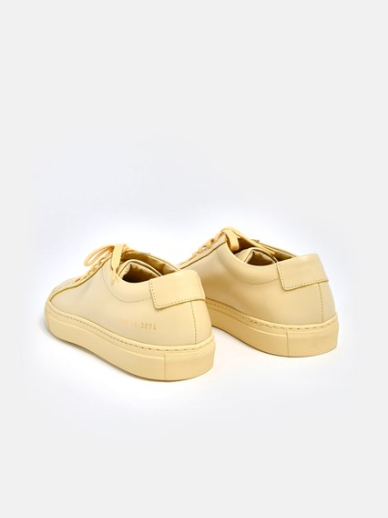COMMON PROJECTS SNEAKERS ACHILLES GIALLE - COD. 1528                 3074