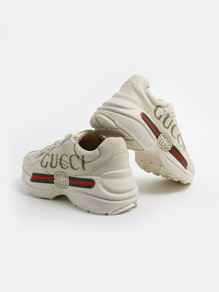 gucci SNEAKERS RHYTON AVORIO available