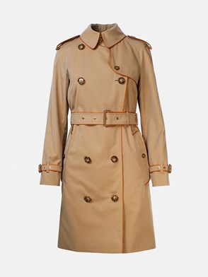 BURBERRY - BEIGE BATLEY TRENCH COAT