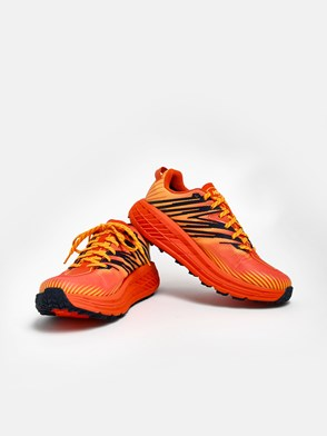 HOKA ONE ONE - ORANGE SPEEDGOAT GTX SNEAKERS
