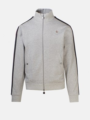 MONCLER - GREY SWEATSHIRT