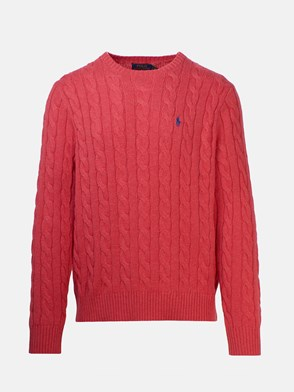 POLO RALPH LAUREN - CORAL SWEATER