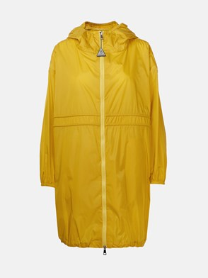 MONCLER - YELLOW LICHEN TRENCH COAT