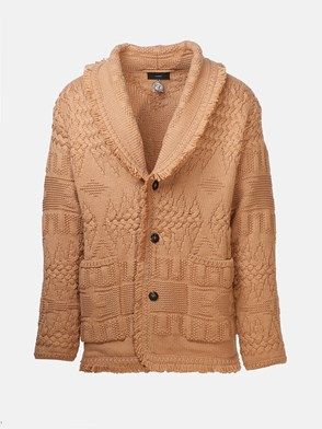 ALANUI - CARDIGAN ICON STITCHES BEIGE