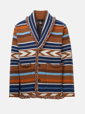 ALANUI - MULTICOLOR MEXICAN CARDIGAN