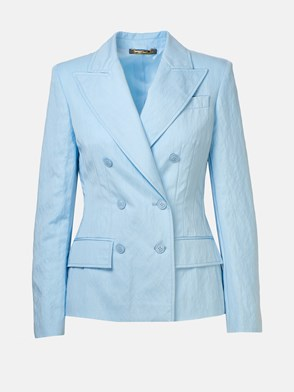 ALBERTA FERRETTI - LIGHT BLUE BLAZER