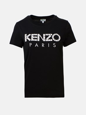 KENZO - T-SHIRT LOGO NERA