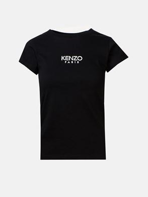 KENZO - T-SHIRT MINI LOGO NERA