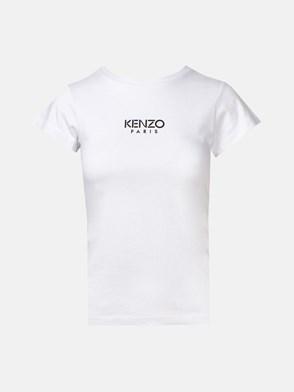 KENZO - T-SHIRT LOGO BIANCA