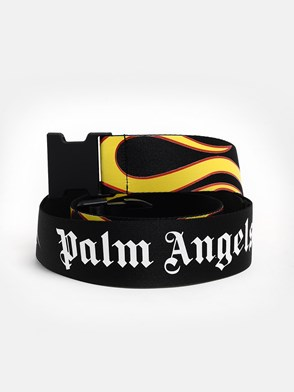 PALM ANGELS - CINTURA BURNING NERA
