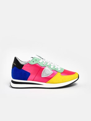 PHILIPPE MODEL - MULTICOLOR TROPEZ SNEAKERS