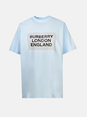 BURBERRY - LIGHT BLUE ARIANA T-SHIRT