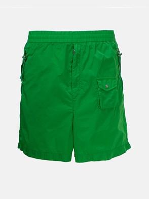 MONCLER GENIUS - GREEN BERMUDA SHORTS