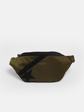 GOLDEN GOOSE DELUXE BRAND - GREEN JOURNEY FANNY PACK