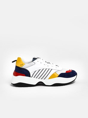 DSQUARED2 - SNEAKERS GIALLE MULTICOLOR