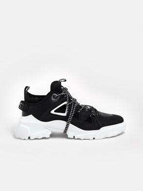 McQ BY ALEXANDER MCQUEEN - BLACK ORBYT SNEAKERS