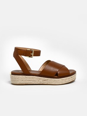 MICHAEL MICHAEL KORS - BROWN SANDALS
