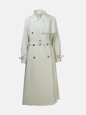 MAX MARA - TURQUOISE GREEN FALSTER TRENCH COAT