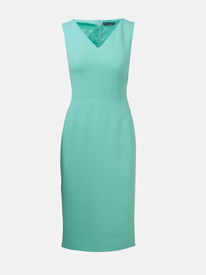 DOLCE & GABBANA - TURQUOISE GREEN DRESS