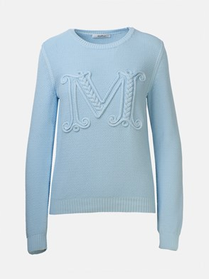 MAX MARA - LIGHT BLUE GALA SWEATER