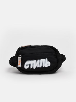 HERON PRESTON - BLACK FANNY PACK