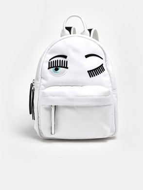 CHIARA FERRAGNI - WHITE FLIRTING BACKPACK