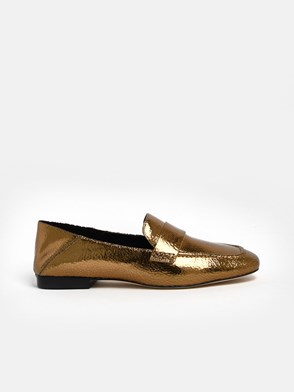 MICHAEL MICHAEL KORS - GOLD EMERY LOAFERS