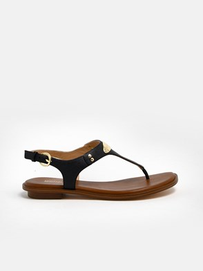 MICHAEL MICHAEL KORS - BLACK SANDALS