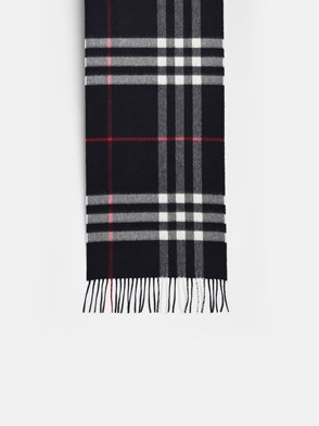 BURBERRY - SCIARPA MU GIANT CHECK BLU