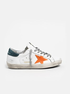 GOLDEN GOOSE DELUXE BRAND - SNEAKERS ST.ARANCIONE BIANCHE