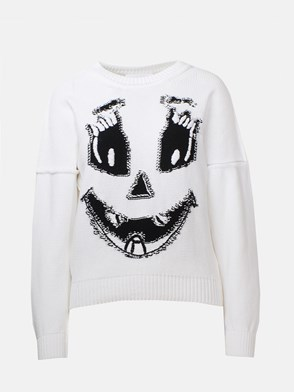 MOSCHINO - WHITE SWEATER
