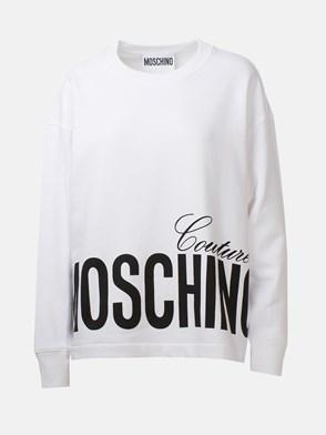 MOSCHINO - WHITE SWEATSHIRT