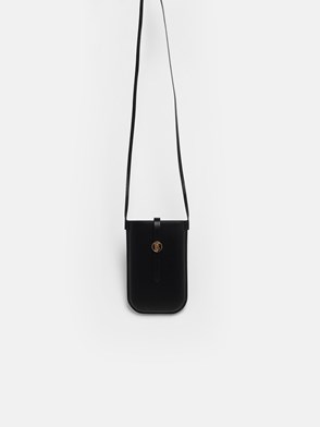 BURBERRY - BLACK ANNE SMARTPHONE HOLDER