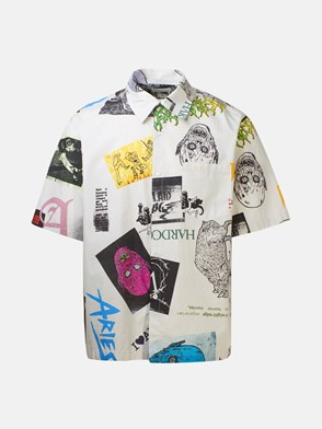 ARIES - MULTICOLOR HAWAIIAN THRASHER SHIRT
