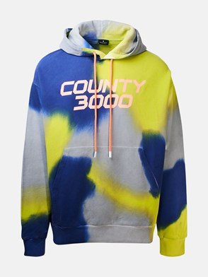 MARCELO BURLON COUNTY OF MILAN - MULTICOLOR COUNTY300 SWEATSHIRT