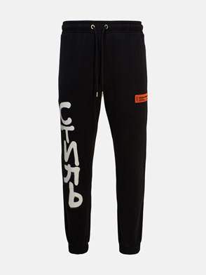 HERON PRESTON - BLACK PANTS