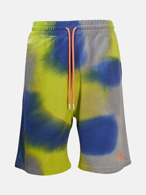 MARCELO BURLON COUNTY OF MILAN - PANTALONCINO COUNTY300 MULTICOLORE