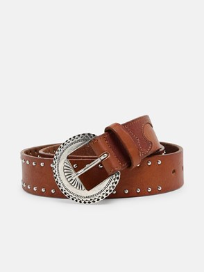 GOLDEN GOOSE DELUXE BRAND - BROWN RANCH BELT
