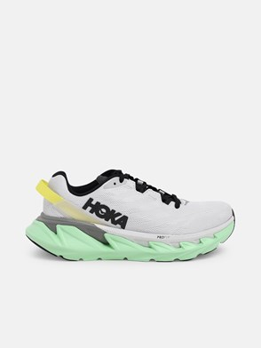 HOKA ONE ONE - GREY AND LIGHT BLUE ELEVON 2 SNEAKERS
