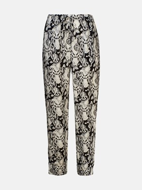 SEE BY CHLOE' - BLACK AND WHITE PANTS