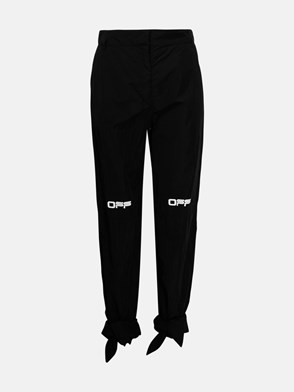 OFF WHITE - BLACK BOW PANTS