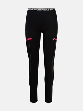 OFF WHITE - LEGGINS ACTIVE NERI