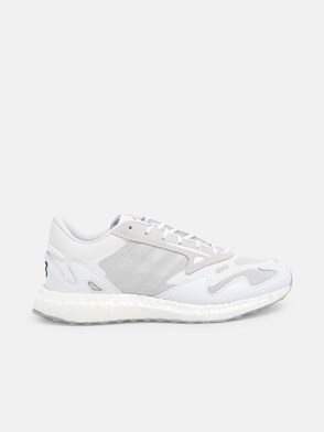 Y-3 - WHITE RHISU RUN SNEAKERS