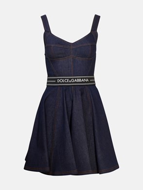 DOLCE & GABBANA - BLUE DRESS