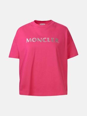 MONCLER - FUCHSIA T-SHIRT