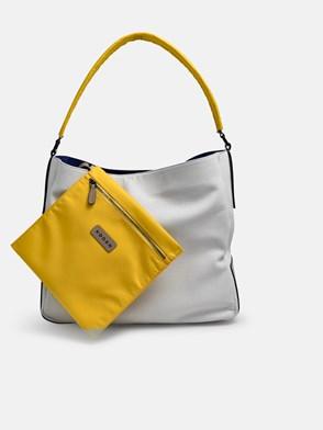 HOGAN - WHITE HOBO DUFFLE BAG