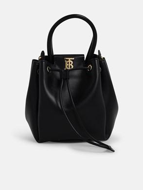 BURBERRY - BLACK PEONY BUCKET BAG