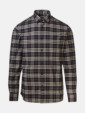 BURBERRY - GREY SIMPSON CHECK SHIRT