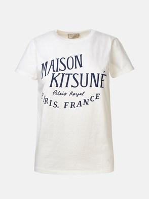 MAISON KITSUNE' - WHITE LOGO T-SHIRT