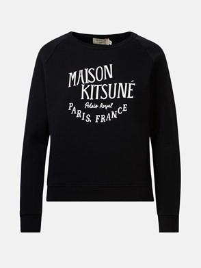 MAISON KITSUNE' - BLACK LOGO SWEATSHIRT